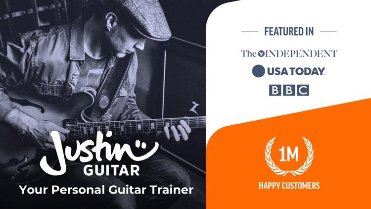 Justin Guitar Lessons & Songs screenshot-0