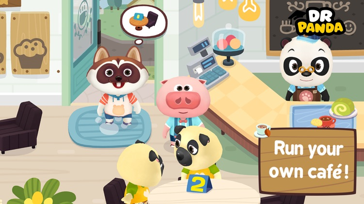 Dr. Panda Cafe screenshot-0