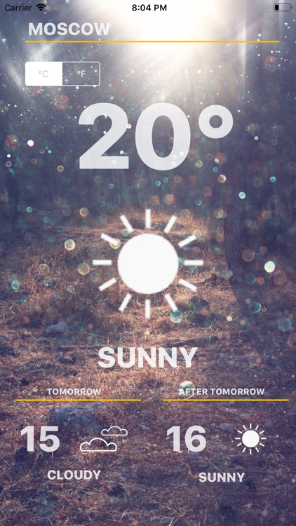 Weather - Global Forecast