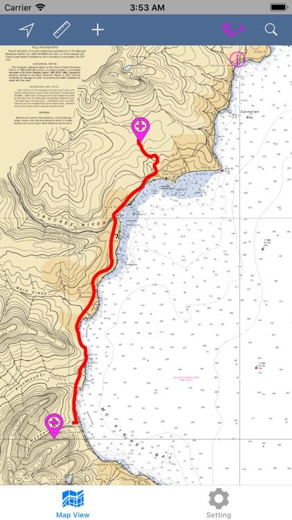 Lake Tahoe – Boating Maps screenshot-6