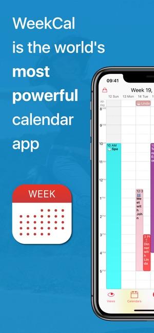 calendar week calendar