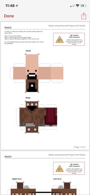 Minecraft Papercraft Tree (Mini) | Minecraft printables, Minecraft ... | 650x300