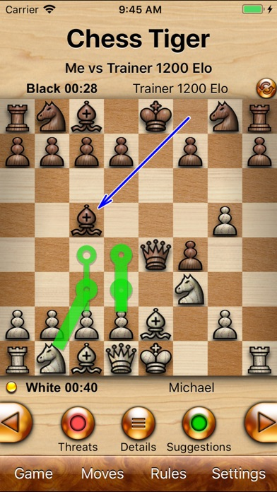 Chess Tiger Pro Screenshot