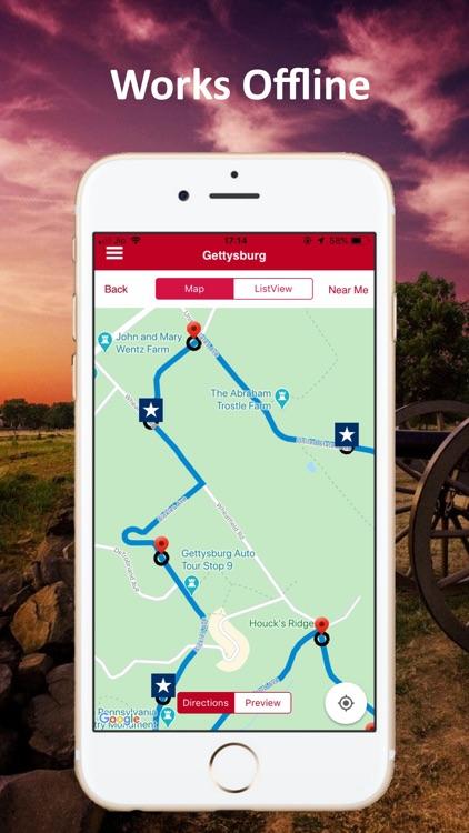 Gettysburg Battle Auto Tour screenshot-4