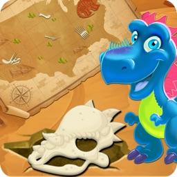 Archaeologist Dinosaur Digging