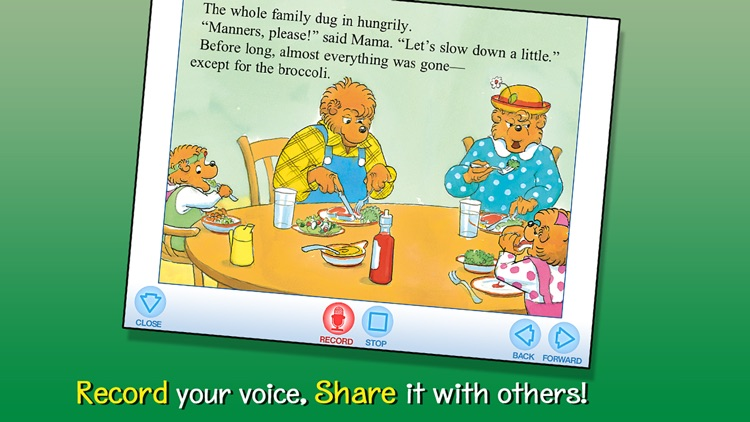 Berenstain Bears Go Out to Eat screenshot-3