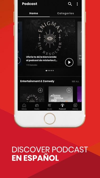 Uforia: Radio, Podcast, Music screenshot-3