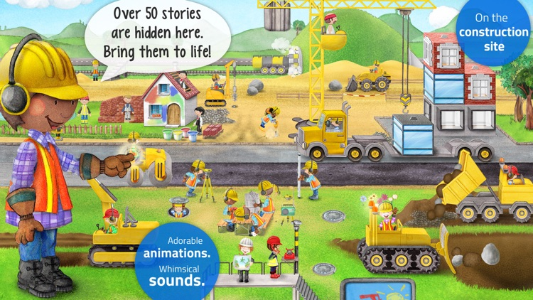 Tiny Builders - App for Kids screenshot-1