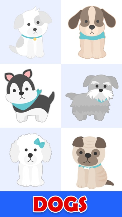 Animated Crazy Dogs Stickers screenshot 1