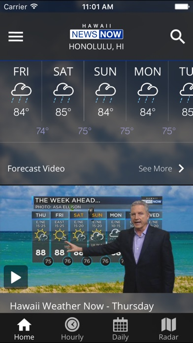 Hawaii News Now Weather review screenshots