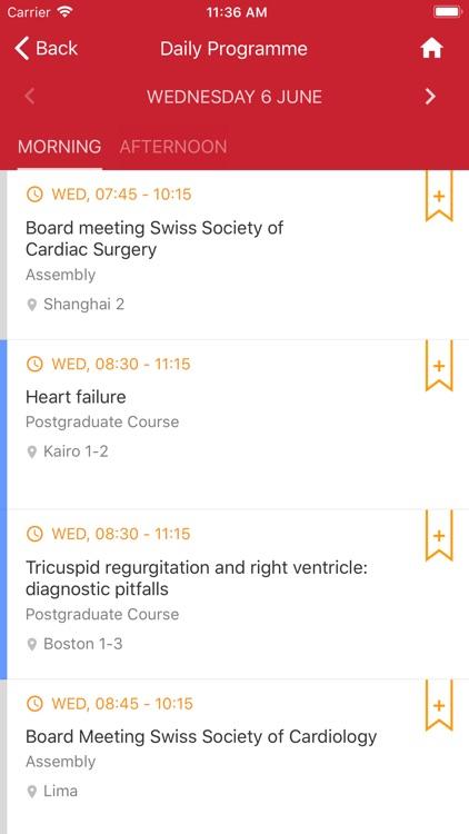 Swiss Society of Cardiology screenshot-4