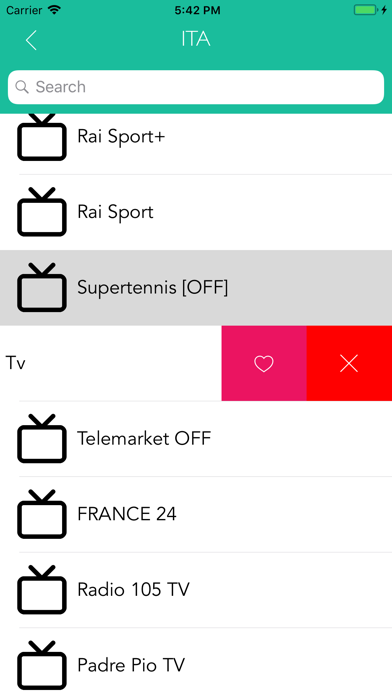 iPTV with Chromecast support by Andrea Alessandroni (iOS, United