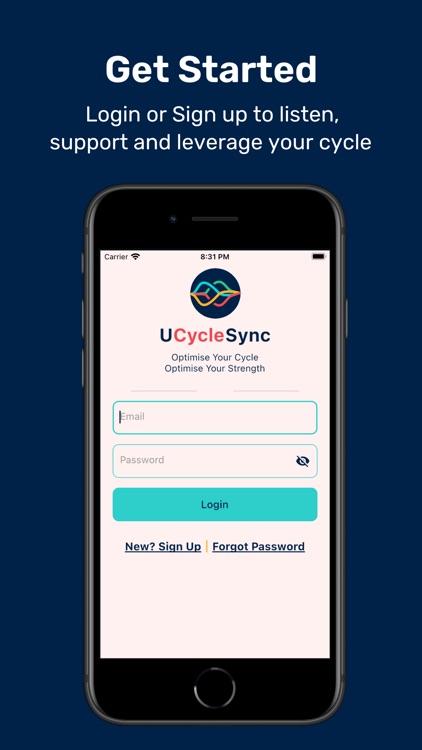 UCycleSync, Menstrual Wellness screenshot-5