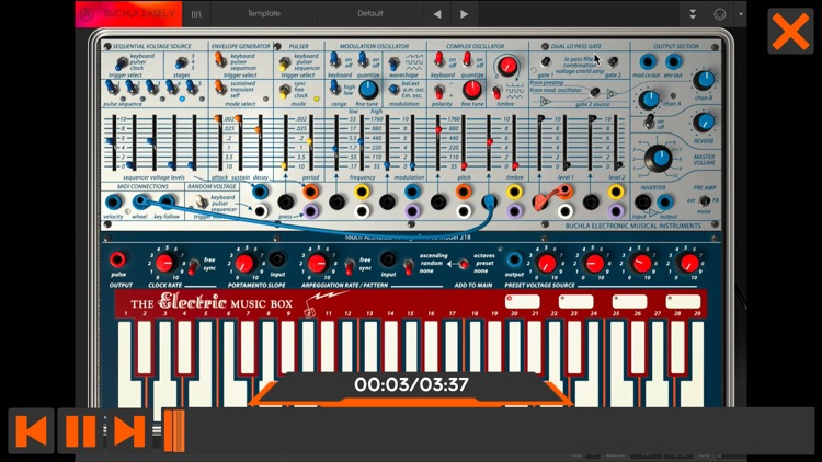 Course For Buchla Easel V