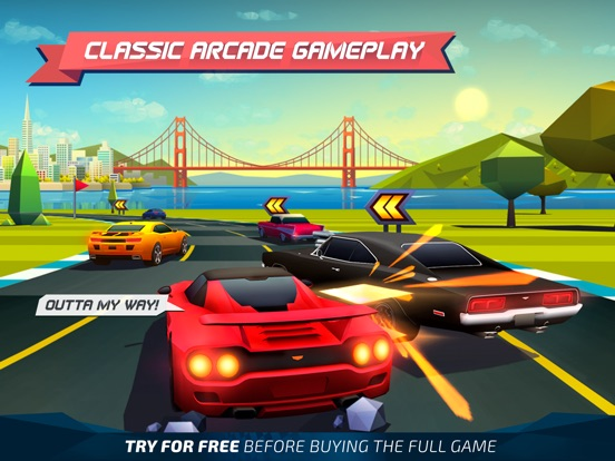 Horizon Chase - World Tour Screenshots