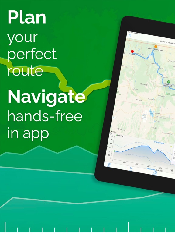 inRoute Route Planner, GPS Navigation & Severe Weather Alerts screenshot