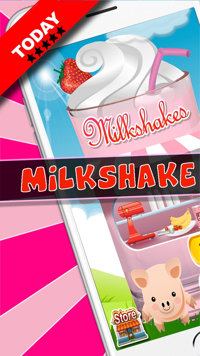 Milkshake Dessert Maker Truck Screenshot