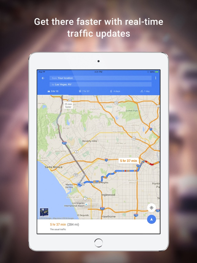 Google Maps - GPS Navigation Screenshot