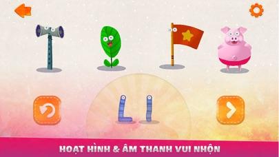 Dạy Bé Học Chữ Cái - Ghép Hình screenshot two