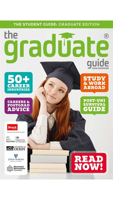Screenshot for The Graduate Guide in United States App Store