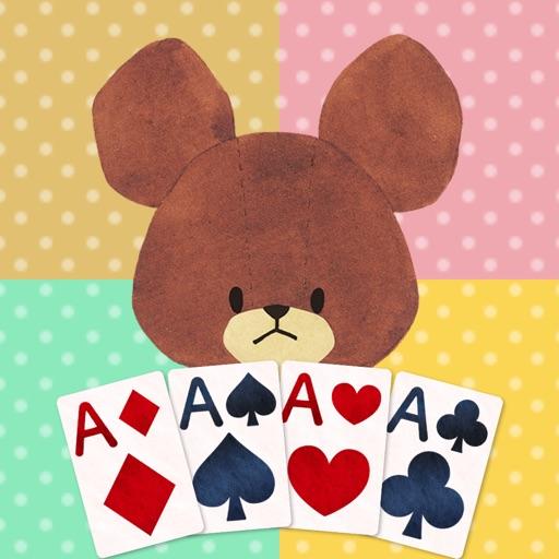 くまのがっこう かわいい カードゲーム集【公式アプリ】
