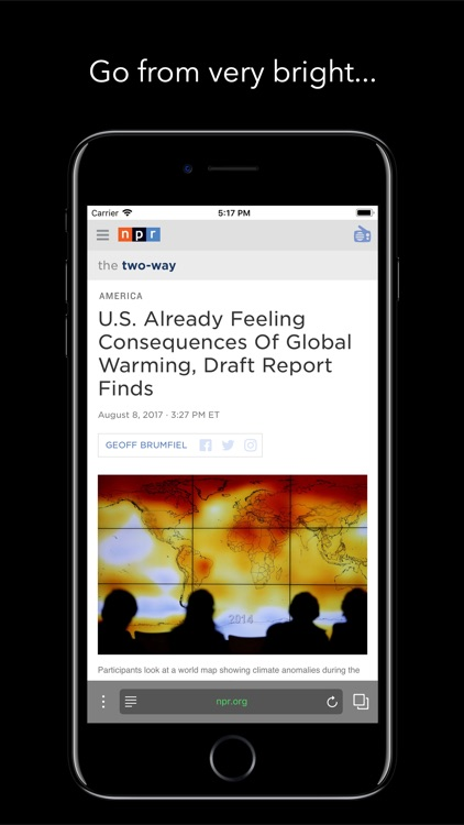 Berry Dark Browser screenshot-0