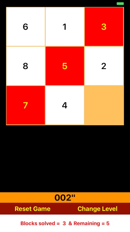 Number Blocks Puzzle Game