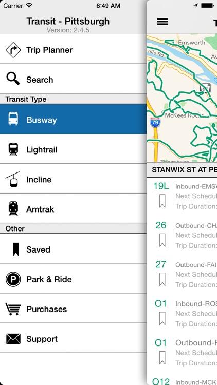 Transit Tracker - Pittsburgh