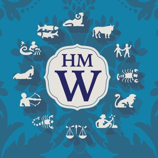 Horoscope Monogram Wallpaper