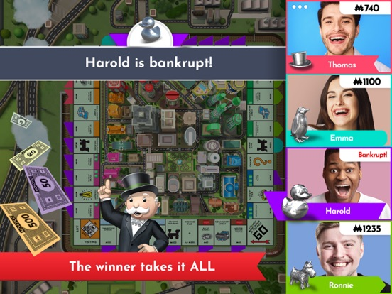 Monopoly iPad app afbeelding 5