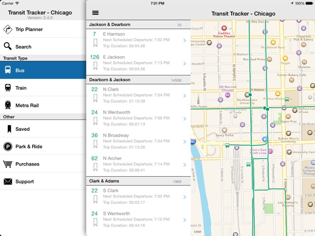 Transit Tracker - Chicago on the App Store