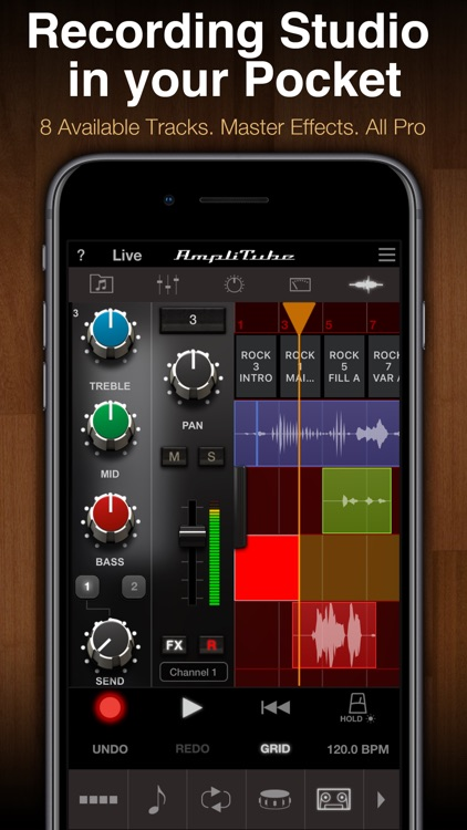 AmpliTube Jimi Hendrix™ screenshot-5