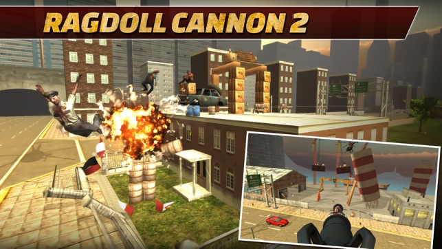 Ragdoll Cannon 2 on the App Store