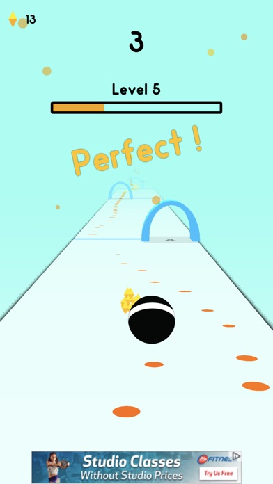 Ball Gates Screenshot on iOS