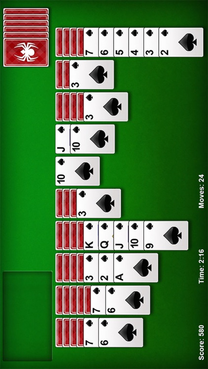 Spider Solitaire Pro ▻ screenshot-1
