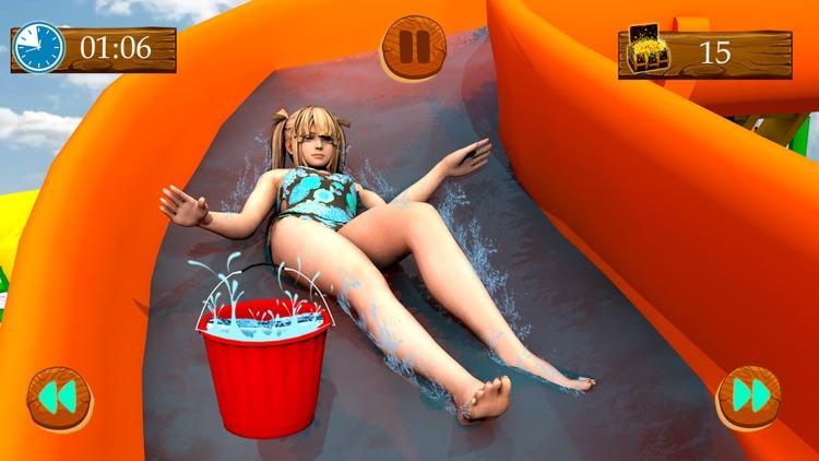 Water Slide Sim Games 2018 screenshot-3