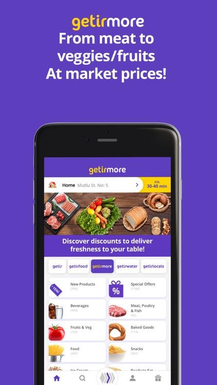 getir: groceries in minutes screenshot-3
