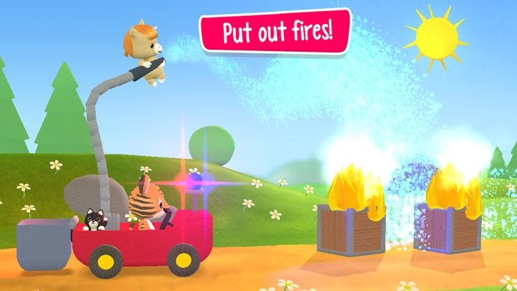 Little Tiger: Firefighter App screenshot-4