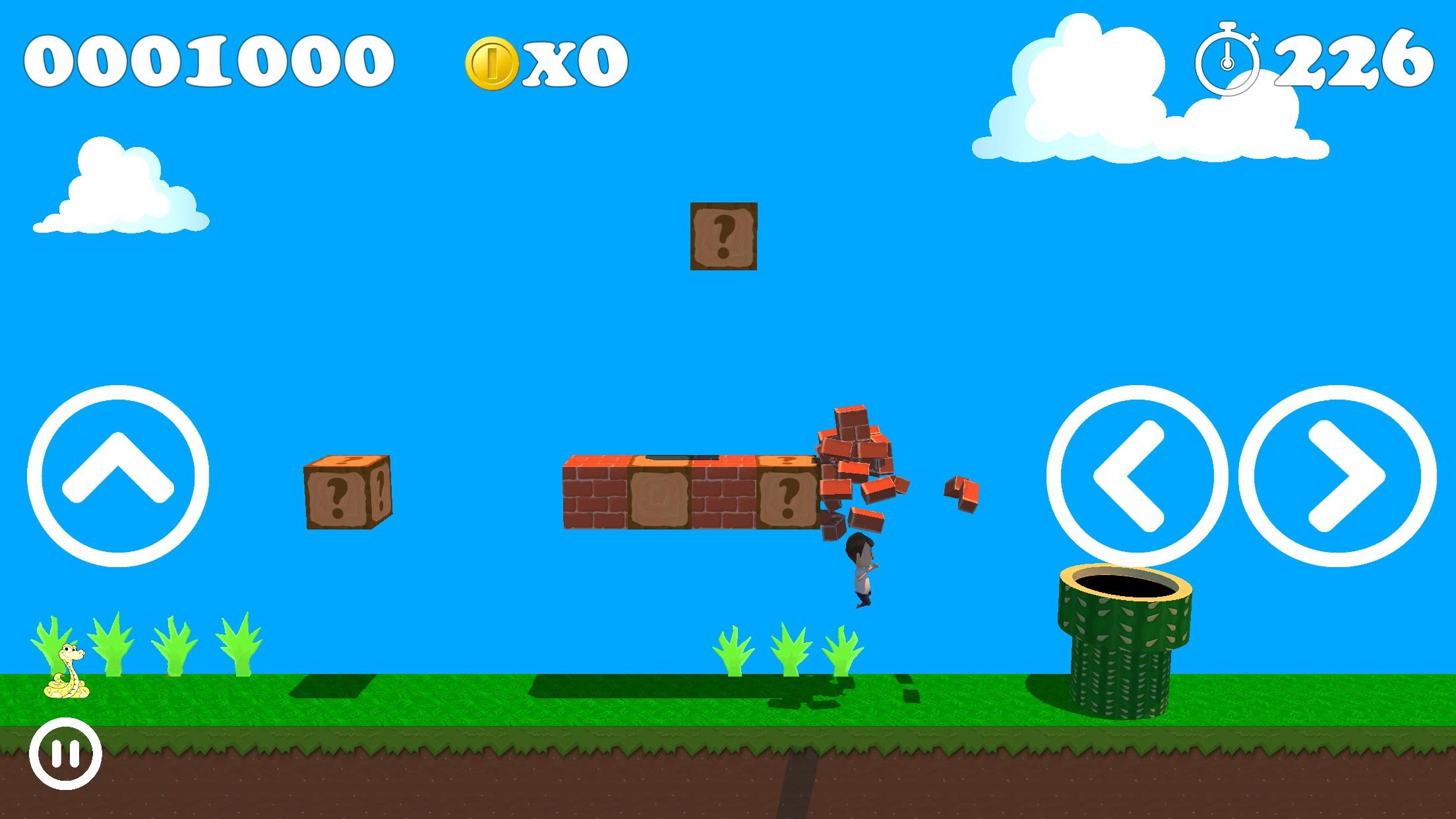 Screenshot do app SuperM.GO