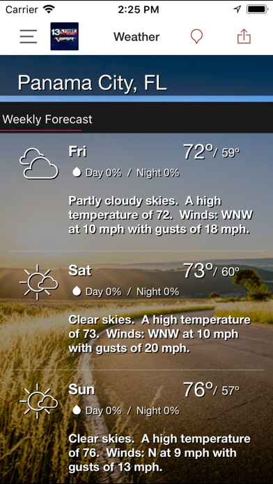 WMBB Weather for Windows