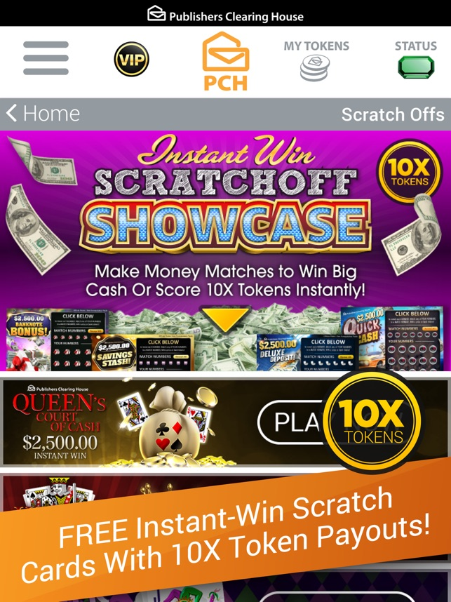 Games Pch Daily Instant Wins   Games World
