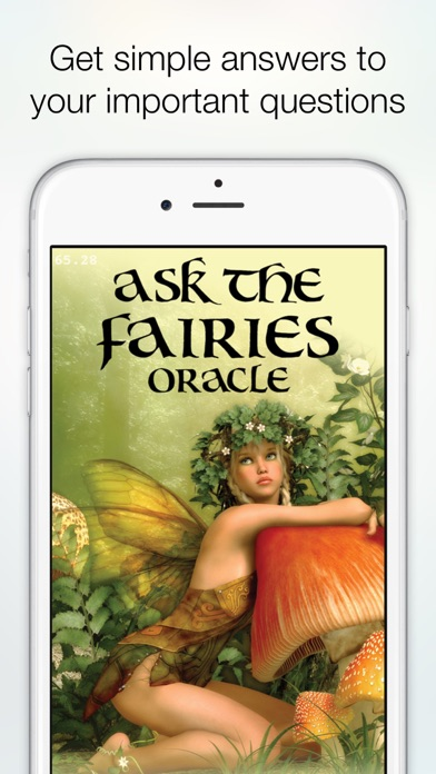 Screenshot #1 pour Ask the Fairies Oracle Cards