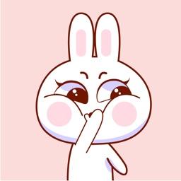 Baby Rabbit Animated Stickers