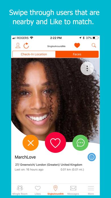 Londra dating app