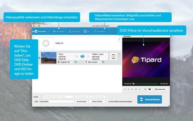 Any-Make DVD Ripper Screenshot