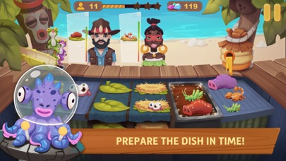 Chef Fever - My Cook Shop Screenshot on iOS