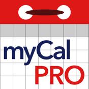 myCal PRO: Calendar & Event Organizer icon