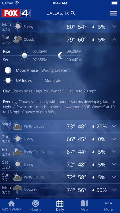 FOX 4 Dallas-FTW: Weatherのおすすめ画像2