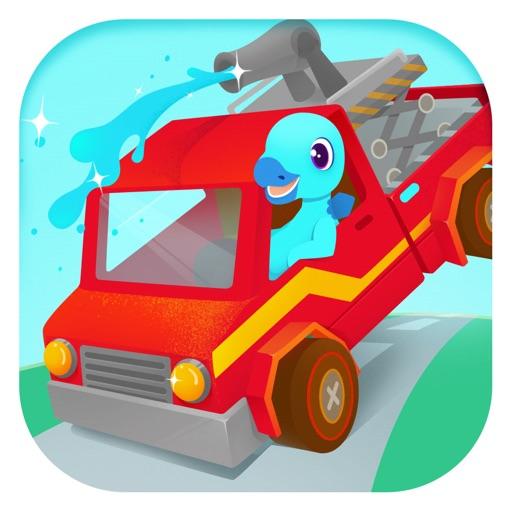 消防车总动员 - 消防员和消防汽车儿童游戏