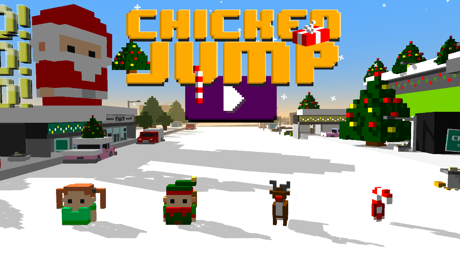 Chicken Jump - Crazy Traffic screenshot 17